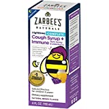 Zarbee's Naturals Children's Complete Cough Syrup + Immune Nighttime with Dark Honey & Elderberry, Natural Berry Flavor, 4 Ounce Bottle Review