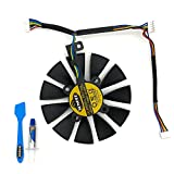 88MM PLD09210S12M And PLD09210S12HH Graphics Card For ASUS Strix GTX 1060 OC 1070 1070Ti 1080 1080Ti RX 480 580 VEGA 64 VEGA 56 Video Card Fan (FAN-A 1Pcs)