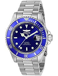 Men's 9094OB Pro Diver Collection Stainless Steel Watch with Link Bracelet