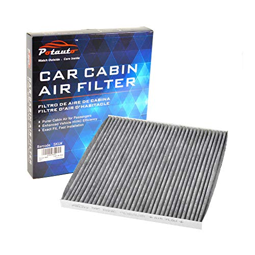 POTAUTO MAP 1022C (CF11173) Replacement Activated Carbon Car Cabin Air Filter for NISSAN, Altima, Maxima, Murano Cross Cabriolet, Murano, Quest (Upgraded with Active Carbon) (Napa To Fram Air Filter Cross Reference)