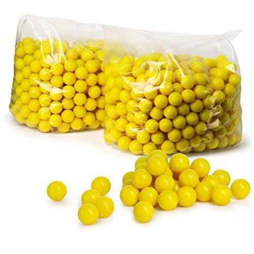 Veska Paintball Balls: 1000 Count .50 Caliber Paintballs for Recreational Use - Paintball Gun Accessories and Paintball Equipment