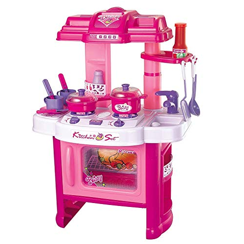 Jack Royal Big Size Kitchen Set for Girls Toys with Lights and Music   Kids Toys for Girls   Kids Kitchen Play Set for Girls