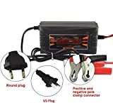 1000 ah battery - Full Automatic Car Battery Charger 110V/220V To 12V 6A 10A Smart Fast Power Charging For Wet Dry Lead Acid Digital LCD Display(Black)