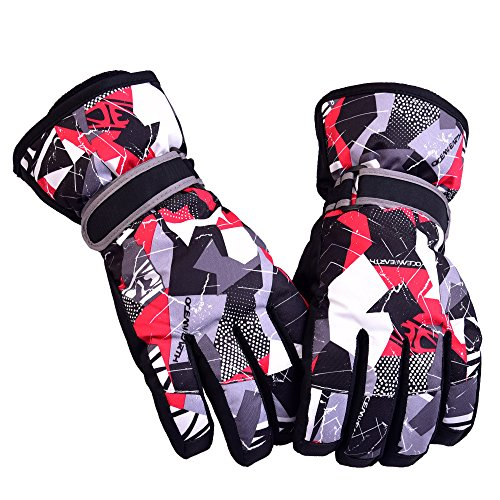 Women's Winter Gloves Cold Weather Snow Skiing Breathable Protection Mittens