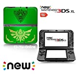 new 3ds zelda console - Ci-Yu-Online VINYL SKIN [new 3DS XL] - The Legend of Zelda: Triforce Heroes Hyrule #3 Green - Limited Edition STICKER DECAL COVER for NEW Nintendo 3DS XL / LL Console System
