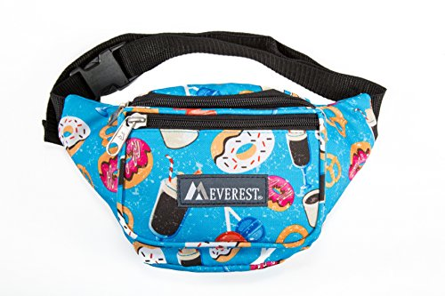 Everest Signature Pattern Waist Pack, Donuts, One Size by everest