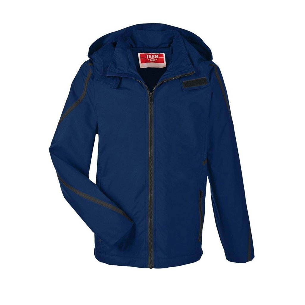 Ash City Apparel Team 365 Conquest Youth Jacket with Fleece Lining (Youth Small, Sport Dark Navy) by Ash City Apparel