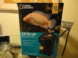 National geographic cf70 uv aquarium canister for National geographic fish tank filter