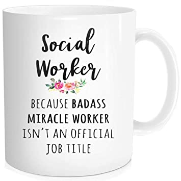 Buy Funny Quotes Mug With Sayings Social Worker Gift Idea Coffee