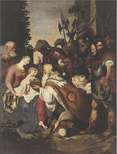 - Oil Painting 'The Adoration Of The Magi By Artus Wolffort,circa 1615' Printing On High Quality Polyster Canvas , 18x24 Inch / 46x60 Cm ,the Best Powder Room Artwork And Home Artwork And Gifts Is This Imitations Art DecorativeCanvas Prints