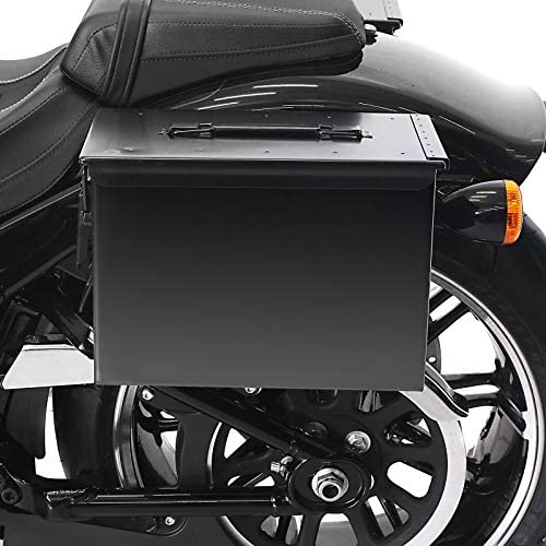Sacoche Lateral Ammo Support pour Harley Dyna Street Bob 06-17 Gauche