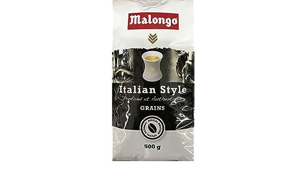 Malongo Granos De Café De Estilo Italiano , 500G: Amazon.es ...
