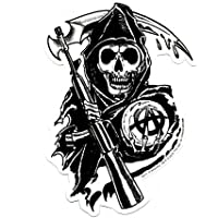 "SONS OF ANARCHY, Reaper, Officially Licensed, 4.5"" x"