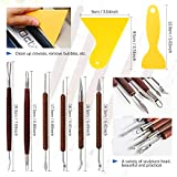 Glarks 30Pcs Carving Modeling Clay Sculpting Tool