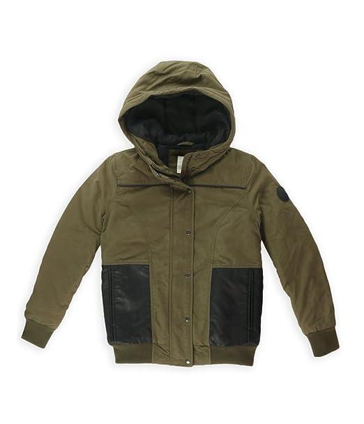 Amazon.com: Vans Vista de la mujer Bomber jacket-black, XS ...