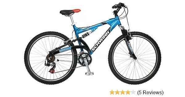 31ef929200f Amazon.com : Schwinn S-15 Men's Dual-Suspension Mountain Bike : Mountain  Bicycles : Sports & Outdoors