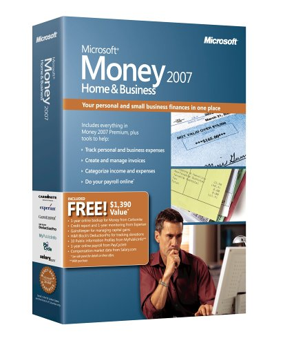 Microsoft Money 2007 Home & Business (Microsoft Accounting Payroll)