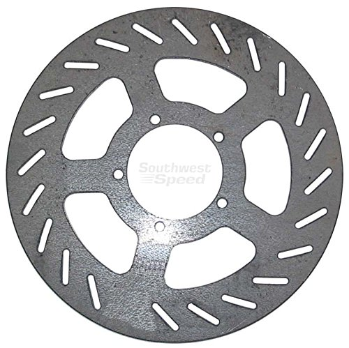 "NEW SOUTHWEST SPEED RACING BRAKE ROTOR, 5 BOLT X 2.375"" BOLT PATTERN, 7 1/8"" DIAMETER X 1/8"" THICK, DISC IS GREAT FOR MICRO SPRINTS, MINI SPRINTS, FACTOR 1, SAWYER, STALLARD, HYPER, PMP, TRIPLE X, CONCEPT, BAILEY, PACE, QUARTER MIDGETS, GO KARTS, MINI-CUP CARS, JR. DRAGSTERS, KARTING, & MANY OTHER APPLICATIONS"