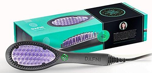 Dafni The Original Hair Straightening Ceramic Brush 120v