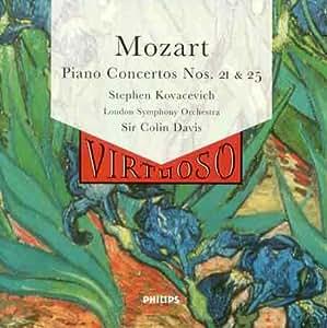 Mozart: Piano Concertos No. 21, K.467 & No. 25, K.503