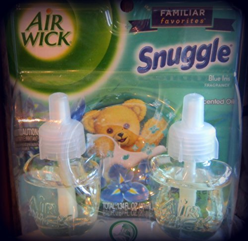 Air Wick Scented Oil Twin Refill Snuggle Blue Iris (2X.67) Oz.