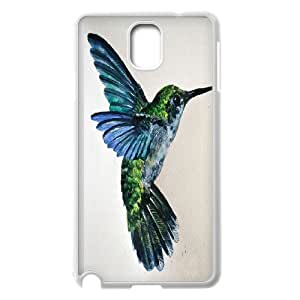 Wholesale Cheap Phone Case For Samsung Galaxy NOTE4 Case Cover -Hummingbird Bird Art Pattern-LingYan Store Case 4