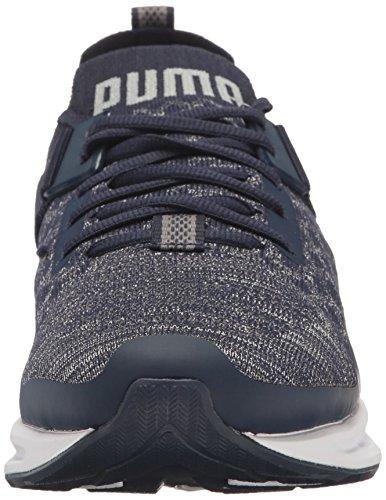 Peacoat Evoknit Quiet Shade Men's Ignite Sneaker Puma Lo Quarry BRUXw