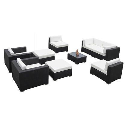 Amazon.com: Muebles de mimbre al aire última intervensión ...
