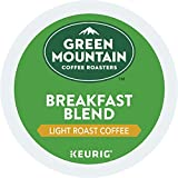 #8: Green Mountain Coffee Roasters Breakfast Blend Single-Serve Keurig K-Cup Pods, Light Roast Coffee, 72 Count (6 Boxes of 12 Pods)