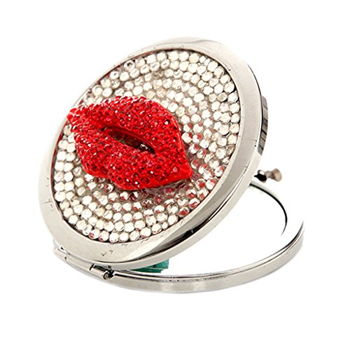 generic-foldable-3d-handmade-magnifying-makeup-mirror-for-women-hand-mirror-red-lips-decoration