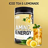 Optimum Nutrition Amino Energy, Half & Half Lemonade Iced Tea, Preworkout and Essential Amino Acids with Green Tea and Green Coffee Extract, 30 Servings For Sale