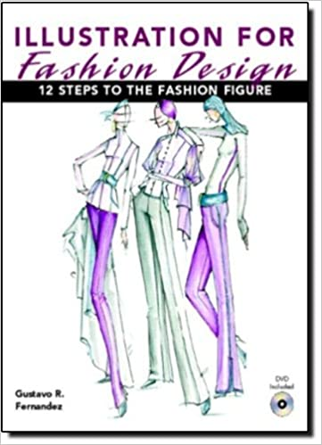 Illustration book like NEW condition Art Book Fashion Book Illustration for Fashion Design: 12 Steps to the Fashion Figure