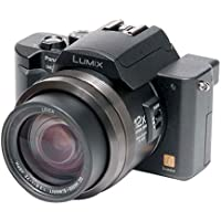 Panasonic Lumix DMC-FZ10K 4MP Digital Camera with 12x Optical Zoom (Black) Key Pieces Review Image