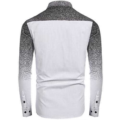 5b2adff93f8e Coofandy Men s Long Sleeve Oxford Shirt