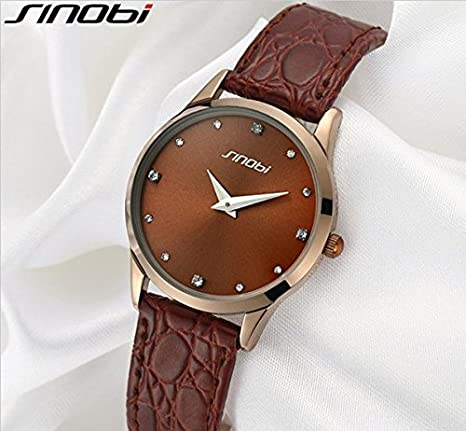 Amazon.com: Relojes de Hombre Fashion Quartz Wristwatch Casual Leather Strap De Hombre Para Caballero Elegante RE0019: Everything Else