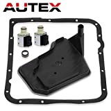 yukon transmission - AUTEX 2PCS 4L60E Transmission Shift Solenoid Valve with Filter Gasket Kit Set A&B for 04 05 06 07 Buick Rainier/Chevy Astro/Chevy Blazer/98 99 00 01 02 Chevy Camaro/13 Chevrolet Silverado 1500