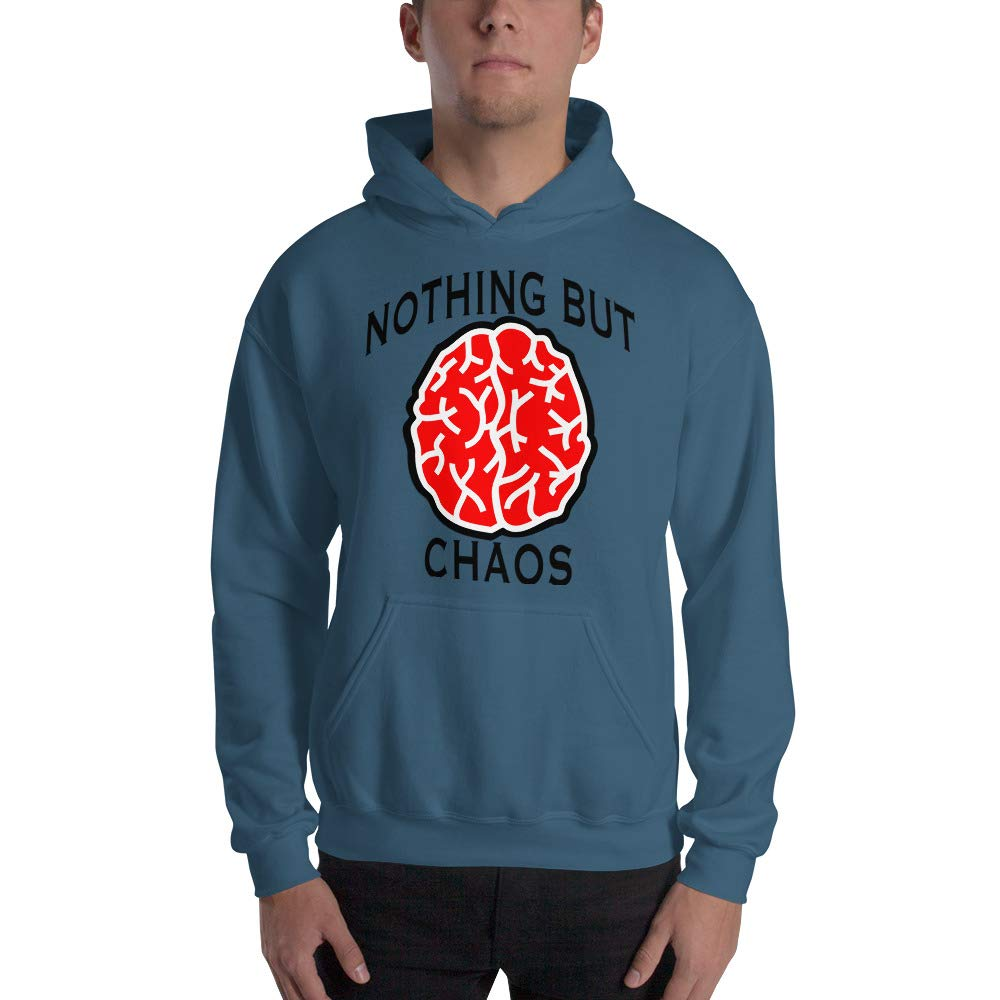 Brain Hooded Sweatshirt Nothing But Chaos