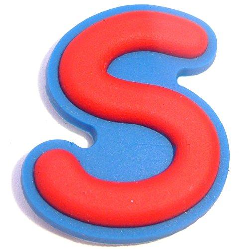 Letter S Shoe Rubber Charm Jibbitz Croc Style