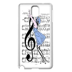 [QiongMai Phone Case] For Samsung Galaxy NOTE4 Case Cover -Love Music-IKAI0446727