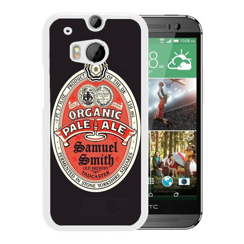 Samuel Smith Pale Ale (HTC ONE M8 Case,Samuel Smith Organic Pale Ale White Shell Case for HTC ONE M8,Luxury Look)
