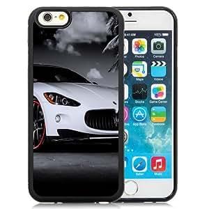 NEW Unique Custom Designed iPhone 6 4.7 Inch TPU Phone Case With Maserati Granturismo White Red Rims_Black Phone Case by icecream design