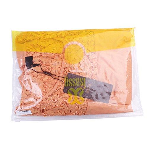 ISASSY - Camisas - relaxed - Cuello redondo - Manga Larga - para mujer naranja