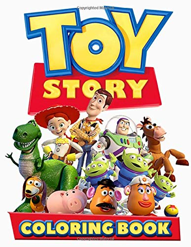 Toy Story Coloring Book Color Your Favorite Characters Andy Woody Buzz Lightyear Bo Peep Amazon De Andy Daniel Fremdsprachige Bucher