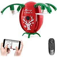 JJRC H66 Christmas Egg WIFI FPV Selfie Drone With Gravity Sensor Mode Altitude Hold RC Quadcopter