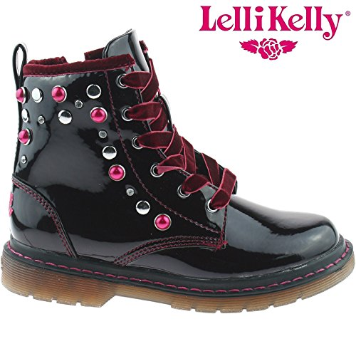 Bordeaux Lelli Kelly Boots Kelly Lelli Lucrezia XYqadRq