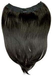 """Tressecret 18"""" Clip In Futura Hair Extension, Dark Brown"""