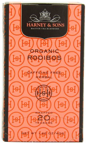 Harney & Sons Organic Rooibos Herbal Tea, 20 Tea Bags (Best Red Wine For Weight Loss)