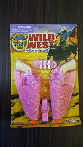 Pink Toy Gun Play Set for Girls - Cowgirl Costume (Pink Cowgirl Costume)