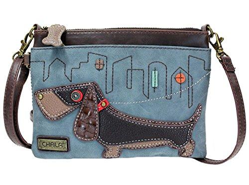 Dog Convertible Dog Straps Chala Crossbody Indigo Mini Lovers Weiner Handbag qP4qxOFwS
