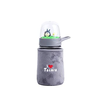 "Diller ""Totoro serie"" bebé botella de leche botella de agua de vidrio cristal"